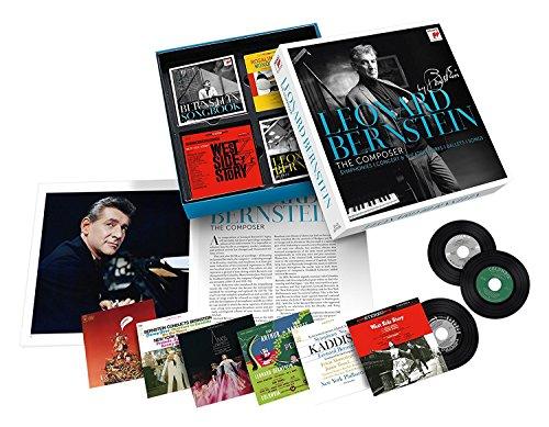 CD : Leonard Bernstein - Leonard Bernstein: The Composer (Boxed Set, Oversize Item Split, 25PC)