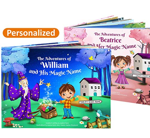 Personalized Childrens Gift - A Unique Personalised Story Book - Custom Made - Great Gift for Kids