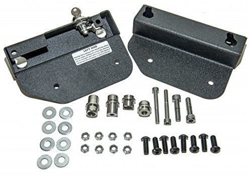 Easy Brackets Quick-Release Saddlebag Mounting Kit for India