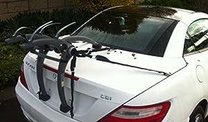 Mercedes slk bike rack bicycle carrier car for Mercedes benz bicycle rack