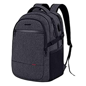 KROSER Laptop Backpack 15.6 Inch Ultra Light Travel Computer Rucksack Water-Repellent Work Bag with USB Charging Port…