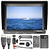 Neewer NW74K 7 Inches Ultra HD 4K 1280x800 IPS Screen Camera Field Monitor with F550 Replacement Battery and USB Battery Charger for Sony Canon Nikon Olympus Pentax Panasonic Cameras