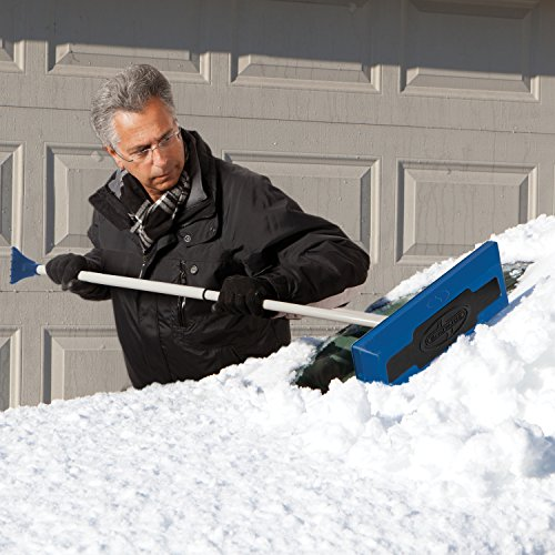 Snow Joe SJBLZD Telescoping Snow Broom with Ice Scraper by Snow Joe (Image #3)