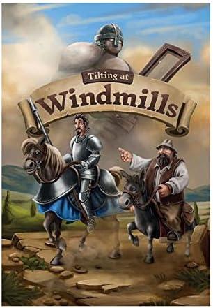 Cogitate games Lucha contra los Molinos de Viento (Tilting at Windmills) - Juego de Mesa en Castellano: Amazon.es: Juguetes y juegos