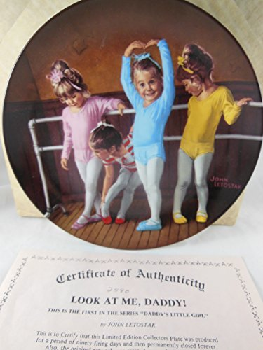 Look at me Daddy By John Letostak First in Daddy's Little Girl Series # 2590 B J Ernst Enterprises 1986