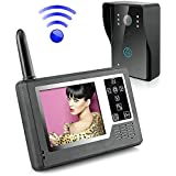"""Ennio 3.5"""" TFT Color Display Wireless Video Intercom Doorbell Door Phone Intercom System"""