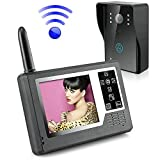 "Ennio 3.5"" TFT Color Display Wireless Video Intercom Doorbell Door Phone Intercom System"