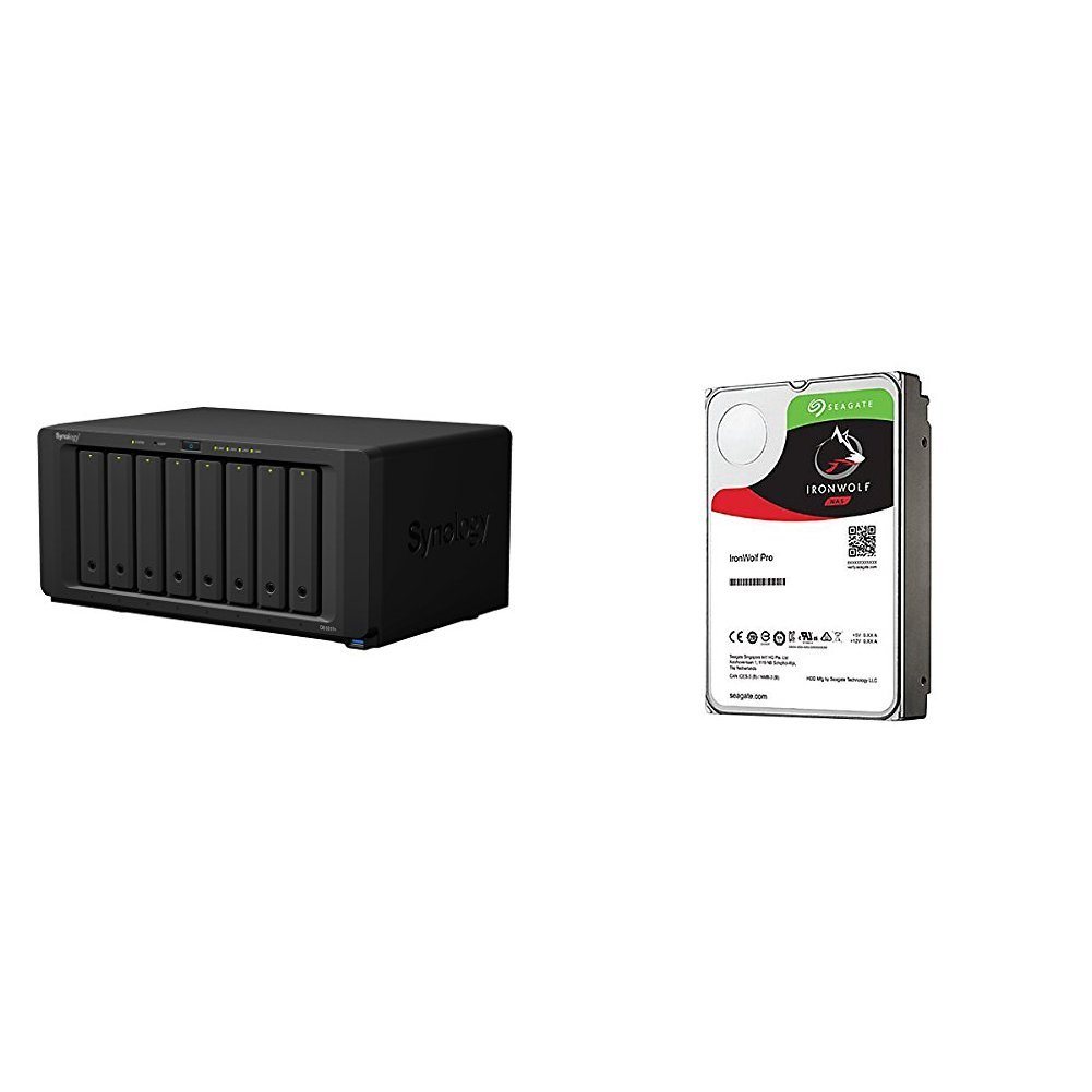 2GB Synology DS1817+ 8 Bay Desktop NAS Enclosure with 2GB RAM