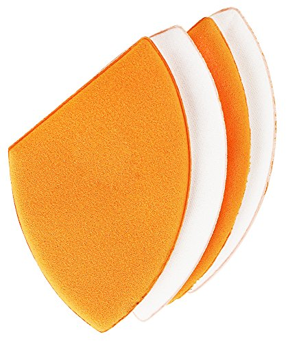 - Real Techniques Miracle Blotting Cushions (Pack of 4), Latex-Free, Polyurethane Foam, Multi-Purpose, Round Bottom Makeup Sponges, Ideal for Blending