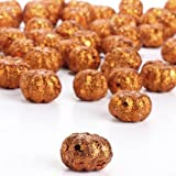 Factory Direct Craft® Package of 60 Miniature Glitzy Glittered Pumpkins for Fall and Autumn