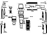 Rdash Dash Kit Decal Trim for Saturn Vue 2008-2009 - Wood Grain (Zebrano Mahogany)