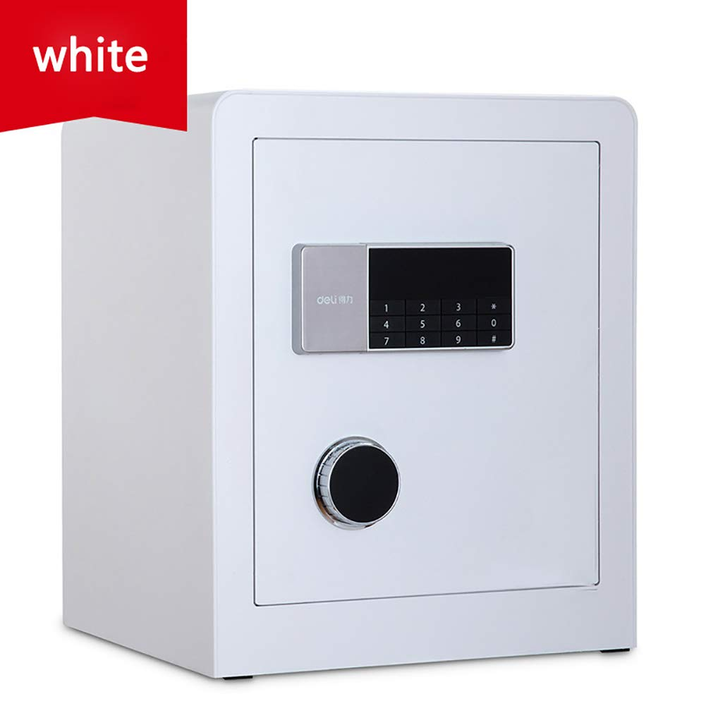 YTBLF Mini Password Safe, Electronic Password Wall-Mounted Safe, Suitable for Home, Hotel, Office Valuable Storage Space,B