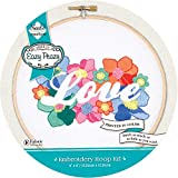 """Needle Creations NC-EP-EMB-2 Embroidery Hoop Kit 6"""" Love, None"""