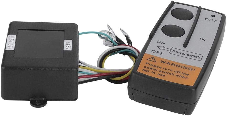 Anchor Remote Windlass Wireless Switch Trim Controller Marine Boat Accessory Qiilu Wireless Winch Remote Control Kit