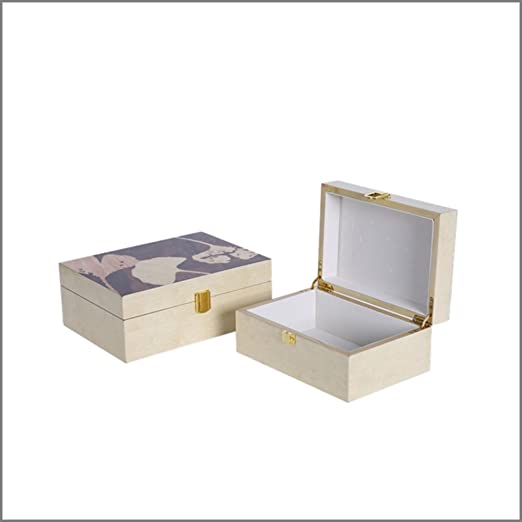 MYITIAN Caja de la joyería casa de salón neoclásico decoración de Escritorio de hogar TV Mueble aparador joyería decoración de la Caja-A: Amazon.es: Hogar