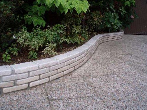 Muretti Da Giardino In Mattoni : Mattoncini in pietra di trani blocchi per muretto decorazione