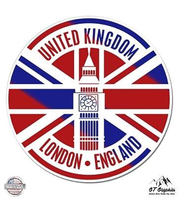 London UK Travel - Vinyl Sticker Waterproof Decal