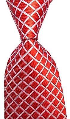 Mens Modern Window Pane Checks Slim Tie Gingham Pattern Designer Wedding Necktie