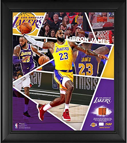 Los Angeles Lakers Framed - LeBron James Los Angeles Lakers Framed 15