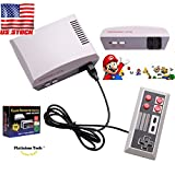 Classic Family Games Console, 2018 HDMI Built-in 600 Childhood Video Games With 2 Controllers (Children Gift, Birthday Gift)