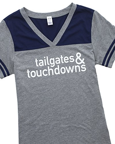 Tailgate Tee (Cents of Style Tailgates & Touchdowns Graphic T-shirt (Small))