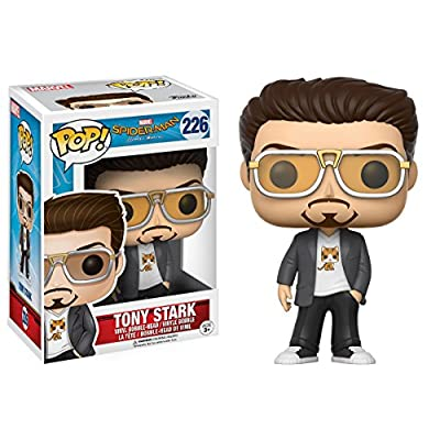 POP Marvel: Spider-Man Vinyl Figure - Tony Stark: Toys & Games