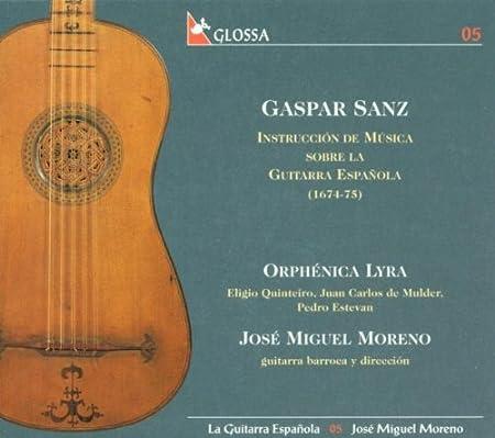 La Guitarra Española Vol. 5; G. Sanz: Estevan; Pedro Moreno; Jose ...