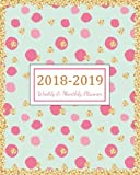 2018 - 2019 Weekly & Monthly Planner: 2018 - 2019 For Two Year Planner | 365 Daily Weekly And Monthly Calendar | Agenda Schedule Organizer Logbook and ... Cover (24 Month Calendar Planner) (Volume 17)