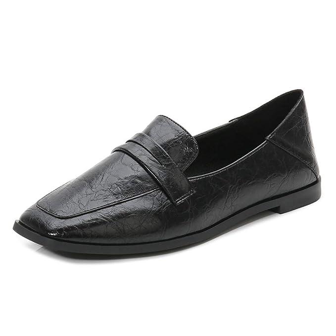 Zapatos De Trabajo Confort Para La Mujer Casual Escuela Ballet Mocasines Planos Zapatos Mocasines: Amazon.es: Ropa y accesorios