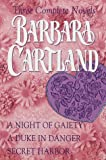 Front cover for the book Secret Harbor by Barbara Cartland