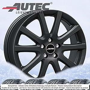 4 Invierno ruedas autec skandic 6.5jx16 ET38 5 X 114,3 Negro con 215 ...
