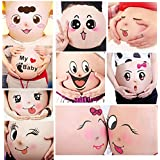 TAFLY 10 Sheets Facial Expressions Pregnancy Baby Bump...