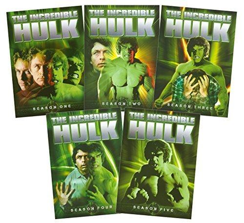 The Incredible Hulk Complete Seasons 1-5]()
