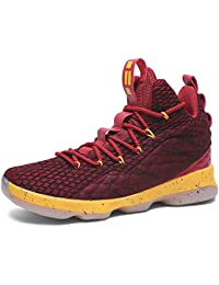 Men's Fashion Basketball Shoes Women's Breathable Flyknit Sneakers