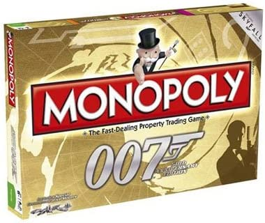 Monopoly 50th Anniversary Edition James Bond Games: Winning Moves: Amazon.es: Juguetes y juegos