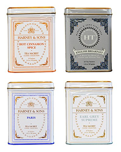 Harney & Sons Cup of Tea Variety Pack of 4