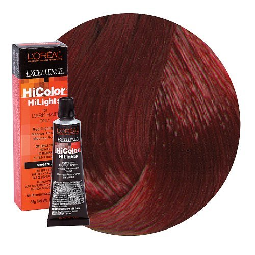 UPC 657201051012, L'oreal Excellence Hicolor, Red Magenta Highlights, 1.2 Ounce