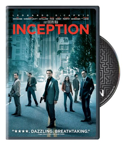 DVD : Inception (Widescreen, Dolby, AC-3)