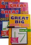 Word Search Puzzle Books Large Print: Word Find