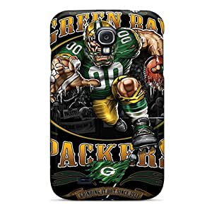 Shock-dirt Proof Green Bay Packers Cases Covers For Galaxy S4
