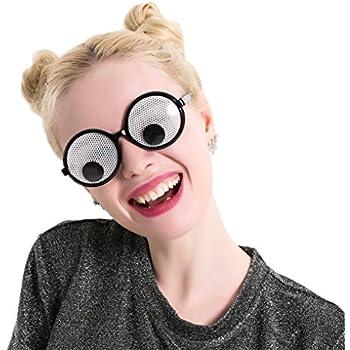 Amazon.com: Googly Eyes Glasses – Plastic Round Party