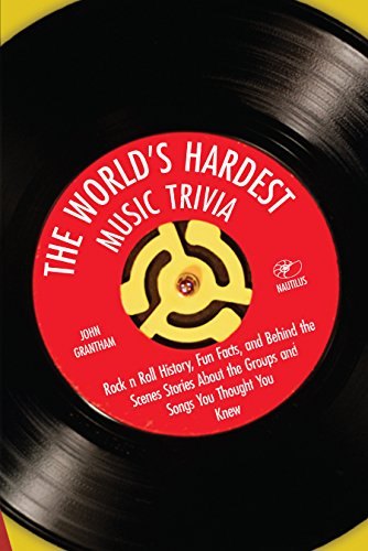 (The World's Hardest Music Trivia: Rock n Roll History, Fun Facts and Behind the Scenes Stories About the Groups and Songs You Thought You Knew)