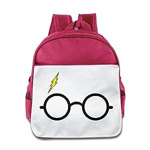 Ysov Harry Glasses Flash Logo Little Kid Pre School Backpack Pink