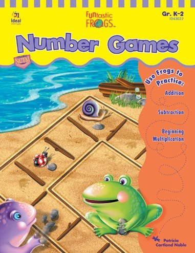 Funtastic Frogs: Number Games, Grades ()
