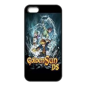 Golden Sun Dark Dawn Game iPhone 4 4s Cell Phone Case Black yyfabc-464530