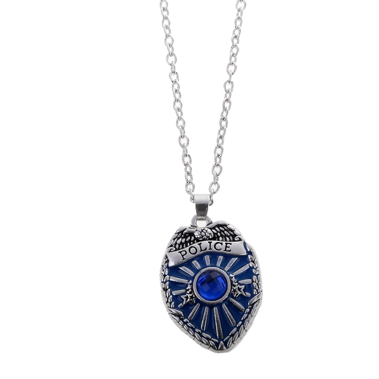 firefighter police ems first collections page responders shineon pendant necklace love badge