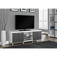 Tv Stand - 60l White-Grey