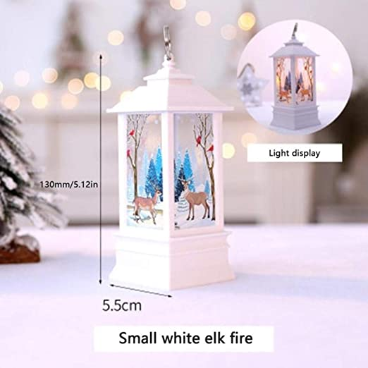 BTKNOO Vela de Navidad LED con Soporte Luz de té LED Velas Jaulas ...