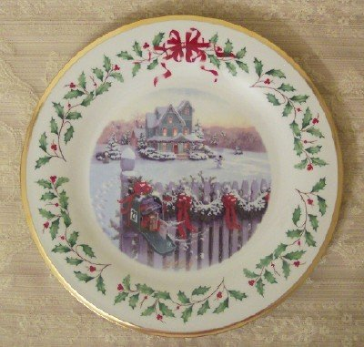 Lenox China 2008 Annual Holiday Collector Plate New in Box