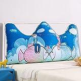 Children bedside cushions / bed large backrest / double triangular bedside cushions cushions / pillow ( Size : 18050cm )